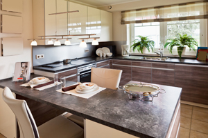 <strong>Modern Kitchen<span><b>in</b>Residential  </span></strong><i>→</i>